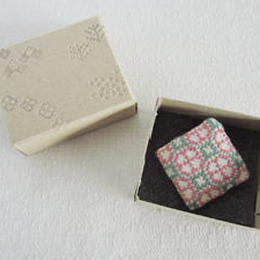 YOSO1203B  よそおいブローチ/春 /ピンク×グリーン