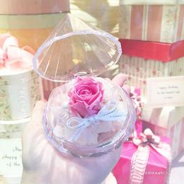 フルール・ド・ダイヤモンド〈ピンク〉