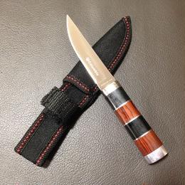 Outdoor Sheath Knife II Wood Handle