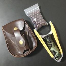 Slingshot Set (Slingshot Camo + Holster + Clay Ball Pack)