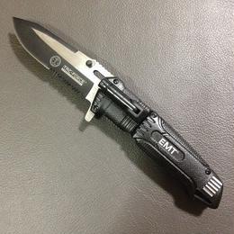 Lighting Folding Survival Knife BK