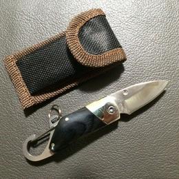 Pocket Carabiner Hook Knofe