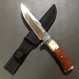 Hunting Knife Wood Handle