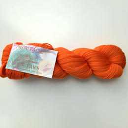 Cascade Heritage sock yarn 5646 Pumpkin