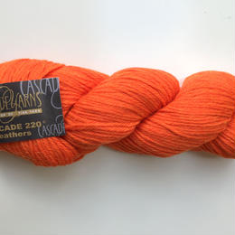 cascade 220 Heather 9444 TangerineHeather