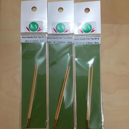 KA 切替輪針用 針先 US 0, 1, 1.5, 2, 2.5, 3
