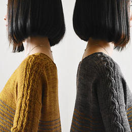 Lattice or Braid by Ririko  印刷パターン (日本語)
