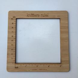 木製 ゲージ メジャー 4インチ(10cm)