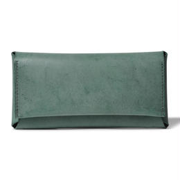 コンパクト設計の長財布    LONG WALLET / DARK GREEN