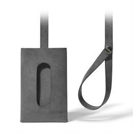 """ストラップ付きカードケース""""1""""  CARD CASE 1 / BLACK"""