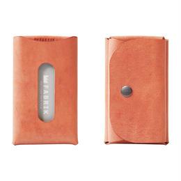 カードも入るキーケース    KEY CASE & CARD / BRICK RED
