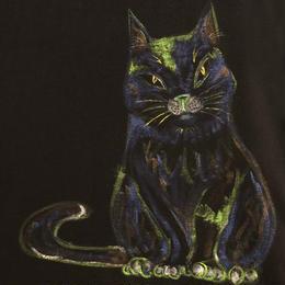 樹乃かに作品 手描きTシャツ Cat