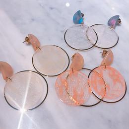 lace ring earrings