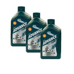 SHELL ADVANCE Racing-M 1ℓ×3本セット