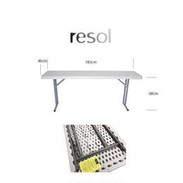 resol  強化プラスティックテーブル