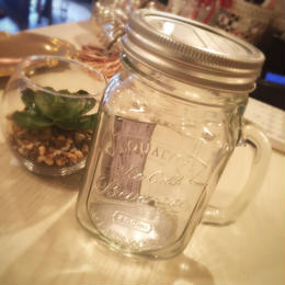 ダルトン  GLASS JAR WITH HANDLE