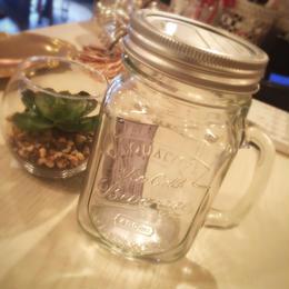 ダルトン  GLASS JAR WITH HANDLE