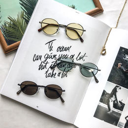 【6color】round oval sunglasses