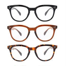 【3color】wellington clear sunglasses