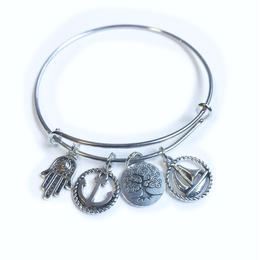 【2color】charm bangle