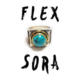 FLEX×SORA  original  collabo  turquoise ring