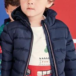 パッド入りジャケット (2~6歳) ネイビー