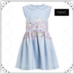 フローラルプリントドレス (2~6歳)