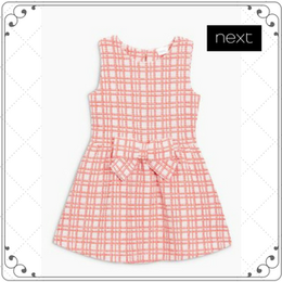 チェック ドレス (2~6歳)
