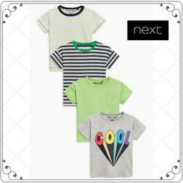 半袖 Tシャツ 4 枚セット  (2~6歳)