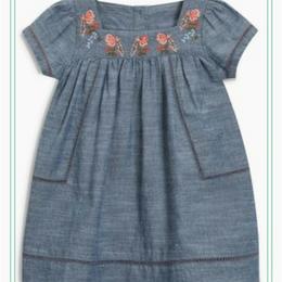 刺繍ワンピース (2~6歳)