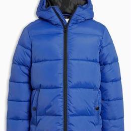 パッド入りジャケット (7~12 歳) コバルト