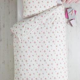 シングルサイズ 掛×枕カバー2 セット (ビンテージ小花柄)