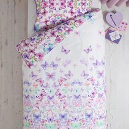 Sofia バタフライ   シングルサイズ 掛×枕カバー