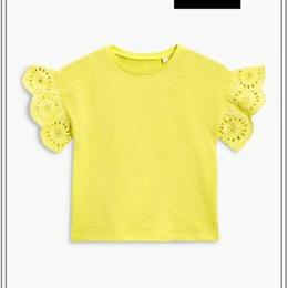 レモンイエロー Tシャツ(2~6歳)