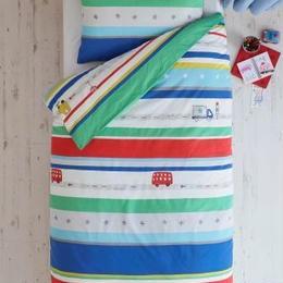 シングルサイズ 掛×枕カバー2 セット (ビープビープ)