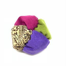 fuwafuwa 〈紅×紫×深緑×ペイズリー〉