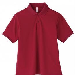 【Natural Smaile】POLO SHIRT UNISEX(Burgurdy)/ポロシャツ ユニセックス(バーガンディ)