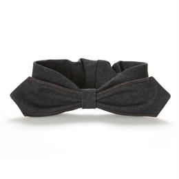 【Mr.PINK】3WAY DENIM HAIRBAND/BLACK デニムヘアバンド