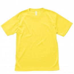 【Natural Smaile】LIGHTDRY T-SHIRT(Yellow)/ライトドライ Tシャツ(イエロー)