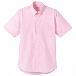 【Natural Smaile】CASUAL SHIRT(Pink)/オックスフォード半袖(ピンク)