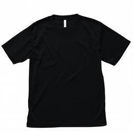 【Natural Smaile】LIGHT DRY T-SHIRT(Black)/ライトドライ Tシャツ(ブラック)