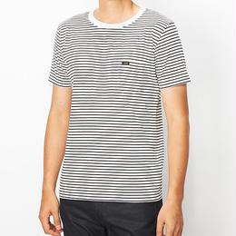 【Lee】PACK POCKET T(White×Black)/パックポケットティーシャツ(ホワイト×ブラック)