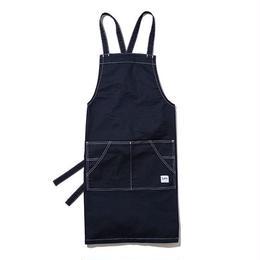 【Lee】BIB APRON(Navy)/胸当てエプロン(ネイビー)