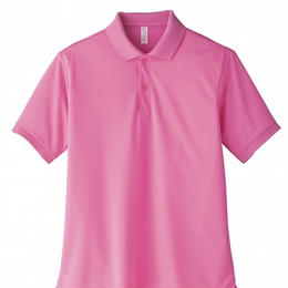 【Natural Smaile】POLO SHIRT UNISEX(Pink)/ポロシャツ ユニセックス(ピンク)