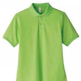 【Natural Smaile】UNISEX POLO SHIRT(Lime Green)/ポロシャツ ユニセックス(ライムグリーン)