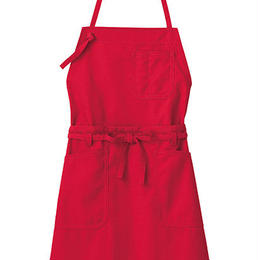 【Natural Smaile】2WAY APRON(Red)/2ウェイエプロン(レッド)
