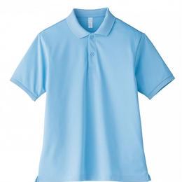 【Natural Smaile】UNISEX POLO SHIRT(Sachs)/ポロシャツ ユニセックス(サックス)