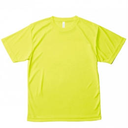 【Natural Smaile】LIGHT DRY T-SHIRT(Fluorescent Yellow)/ライトドライ Tシャツ(蛍光イエロー)