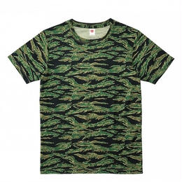 【Natural Smaile】HYBRID T-SHIRT(Tiger Stripe)/ハイブリッド Tシャツ(タイガーストライプ)