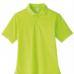 【Natural Smaile】UNISEX POLO SHIRT(Light Green)/ポロシャツ ユニセックス(ライトグリーン)